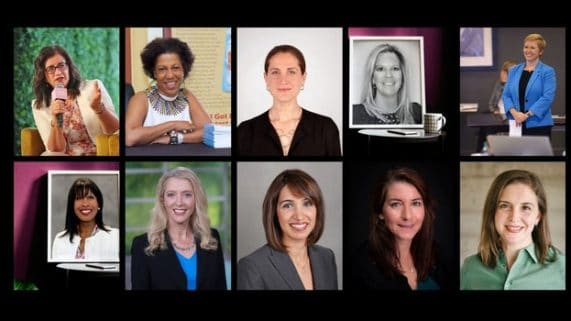 10 women leaders, pr