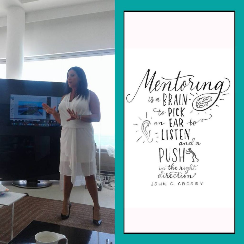 you need a mentor to help you develop the business you are looking for.