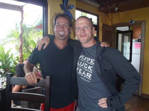Brian Swan with Tim Ferriss in Panama