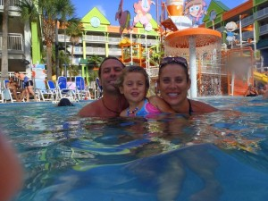 Nickelodeon Resort Swimming Pool, Orando