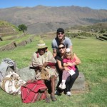 Unstoppable Family with Don Ramon shaman in Sacred Valley