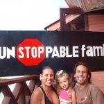 unstoppable family banner bastimentos boat races bocas del toro panama