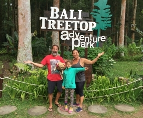 Bali Treetop Adventure Park Makes For A Great Weekend