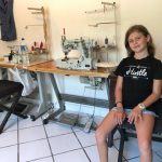 10 Year Old Becomes a Fashion Designer