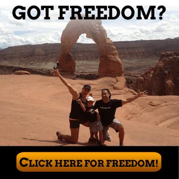 Got Freedom Arch