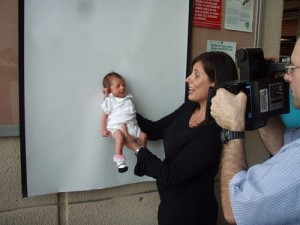 Hanalei's First Passport Photo