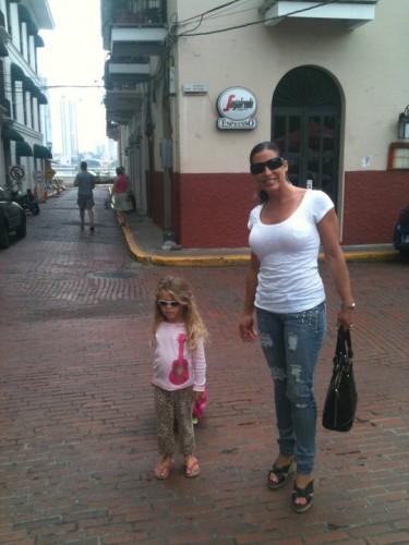 Hanalei and Rhonda Power Shopping in Panama City