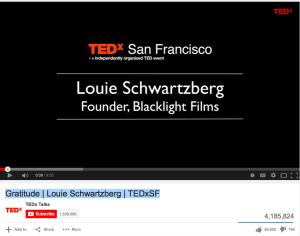 Gratitude   Louie Schwartzberg   TEDxSF