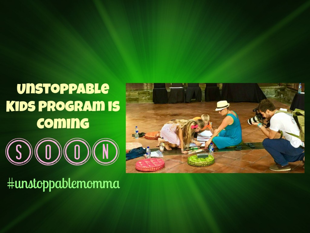 unstoppable kids program is releasing soon